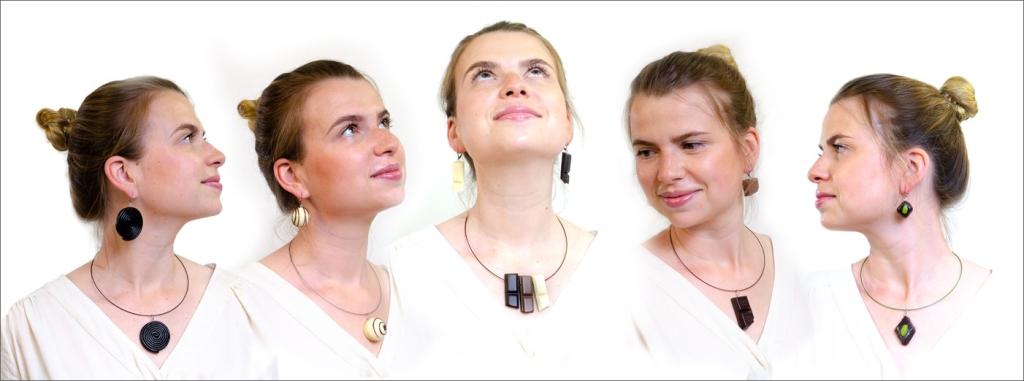 Schokoklunker: Schmuck aus Schokolade - Ohrringe und Kettenanhänger Macht nicht dick sondern chick